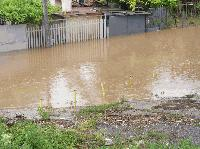 Река Хасковска преля и наводни десетки къщи
