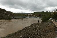 Трети ден нивото на река Тунджа в района на Елхово се покачва.