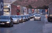Среднощна блокада на българи в Гърция