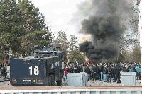 Мигрантът, запалил българското знаме в Харманли, отива на съд