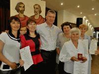 Наградените по случай 24 май културни деятели и институции от Община Тунджа