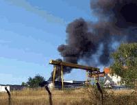 Огнеборци от РСПБЗН-Котел са спасили три сгради от пожар в село Тича