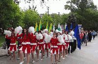 Шествие за честването на 24 май в Ямбол