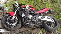 Шофьор блъсна моторист и избяга