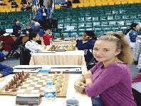 Доника Шивачева от Ямбол – вицешампионка по блиц при жените!