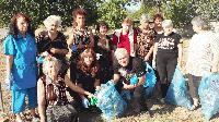 """Жителите на община """"Тунджа"""" се включиха в инициативата """"Да изчистим България заедно"""""""