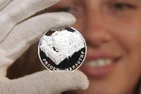 БНБ пусна сребърна десетолевка с Рилския манастир