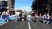 Обновена улица в Нова Загора