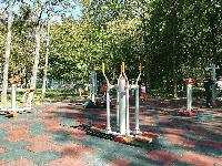 Нова площадка за фитнес на открито в Градския парк на Ямбол