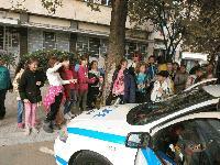 Четвъртокласници от сливенските училища станаха полицаи за един ден