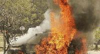 ТЕЖКА КАТАСТРОФА! Жена загина при пожар в колата си на пътя Сливен-Казанлък