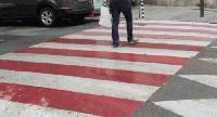 Започнаха проверките на пешеходни пътеки