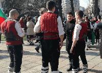 Възстановка в Бургас: Посрещнаха конния отряд на Лермонтов