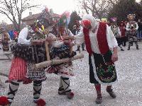 Кукерски празник в село Хаджидимитрово