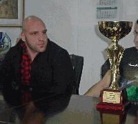 Национален шампион от клуба по силов трибой в Чарган