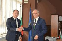 Новият консул на Р Турция в Бургас с първа официална визита в област Ямбол