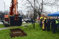 """Започва изграждането на кръговото кръстовище """"Розова градина"""" в Сливен"""