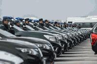 Гранична полиция получи 149 нови коли, купени с европари