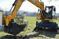 Първа копка на рехабилитация на пътя Раднево-Нова Загора-Свиленград