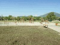 "Откриват облагородения парк около зала ""Станка Златева"" в Сливен"