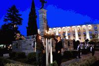 Символният огън на Майските дни на културата беше запален от актьора Камен Донев и кмета Стефан Радев