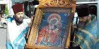 Чудотворната икона на Богородица пристигa отново в Сливен