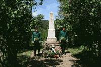 Поклонение пред лобното място на Димитър Казака край Кремиковския манастир