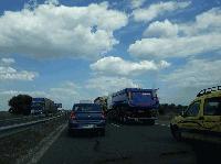 """Румънка е пострадала при катастрофа между ТИР и кола на магистрала """"Тракия"""""""