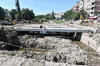"""Кметът на Сливен инспектира изпълнението на кръстовището """"Розова градина"""""""