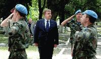 """Каракачанов провери оперативна база на 68-а бригада """"Специални сили"""""""
