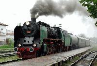 Атракционен парен локомотив ще премине през Ямбол на 7 октомври