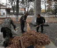 Родолюбива инициатива на батальона преди празника на Сухопътните ни войски
