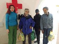 БЧК – Ямбол в подкрепа на бездомните хора