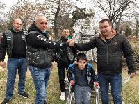 Рокери от близо и далеч дариха средства за операция на дете от Сливен