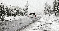 Жълт код за още валежи от дъжд и сняг във вторник