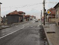 """Ремонтираната улица """"Преслав"""" в Ямбол е отворена за движение през зимния сезон"""