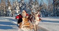 Дядо Коледа потегли от Северния полюс