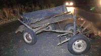 Подпийнал каруцар и сътничката му пострадаха при ПТП на пътя между Ямбол и Сливен