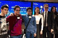 Български ученици бяха наградени в Брюксел от световни компании