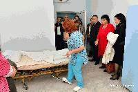 """Кметът Стефан Радев присъства на връчването на дарение от саксонската принцеса Теофана фон Саксен за МБАЛ """"Д-р Иван Селимински"""""""