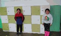 Нови шкафчета за учениците в село Стефан Караджово