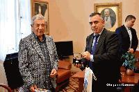 Кметът на Сливен се срещна с известния драматург, поет и писател Стефан Цанев