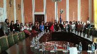 """Заместник-кметът на Сливен се срещна с ученици от Сливен, Турция, Италия, Румъния и Испания по програма """"Еразъм+"""""""