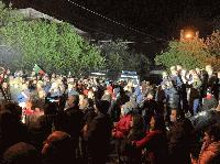 10 задържани след най-масовия протест в Габрово