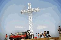 Община Болярово продължава да поддържа осветлението на кръста на Бахтепе