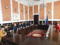 Кметът Стефан Радев се срещна с председателя на Федерацията по джудо и клубове от Сливен