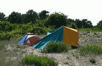 До 3000 лева глоба за палатка на дюни
