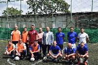 Старши комисар Димитър Величков откри футболния турнир по случай празника на МВР-5 юли