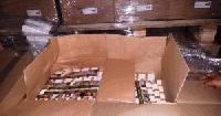 Митничари спипаха 7000 кутии контрабандни цигари, скрити в автобус