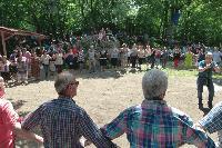 """Единадесети българо-гръцки събор в местността """"Църквичката"""" край село Голям манастир"""